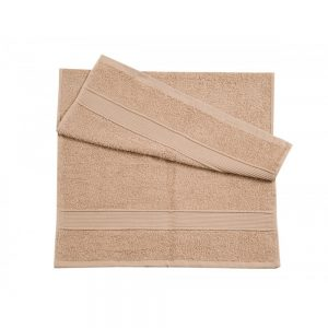 бежевое полотенце