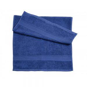 синие полотенце