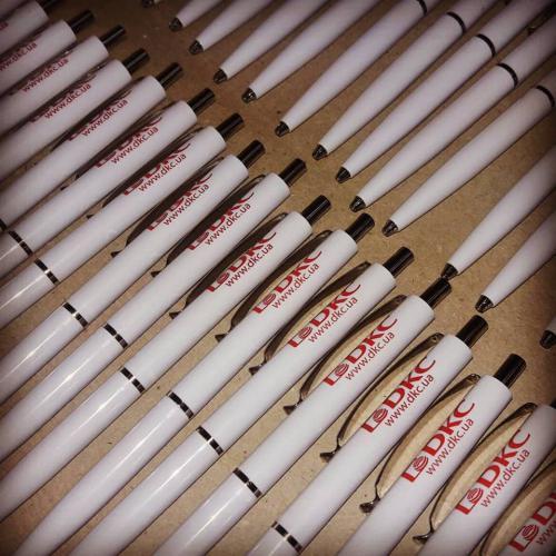 Шариковые ручки с нанесением логотипа