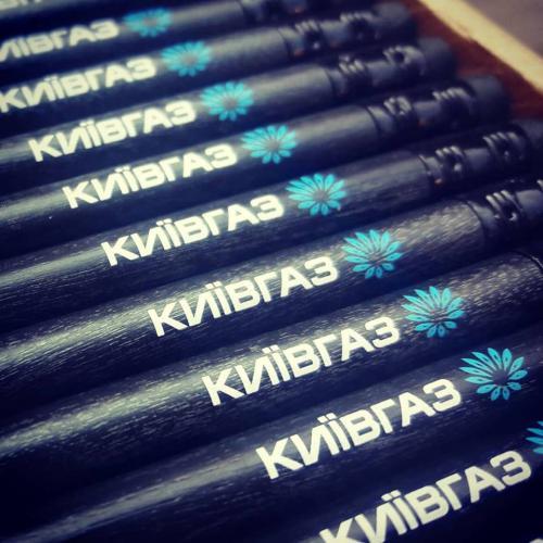 Печать на карандашах